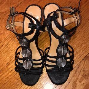 Fergie wedge heel sandals